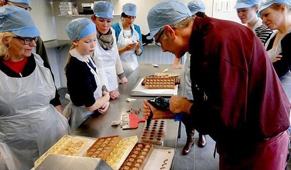 Volg een chocoladeworkshop