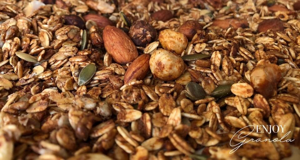 Ambachtelijke granola, natuurlijk en verantwoord genieten!