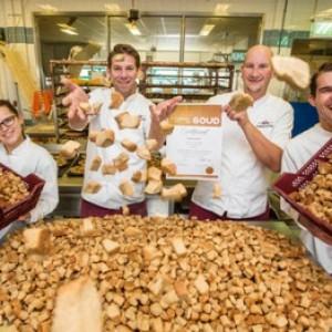FEEST!!! Onze héérlijke pepernoten zijn met GOUD bekroond!